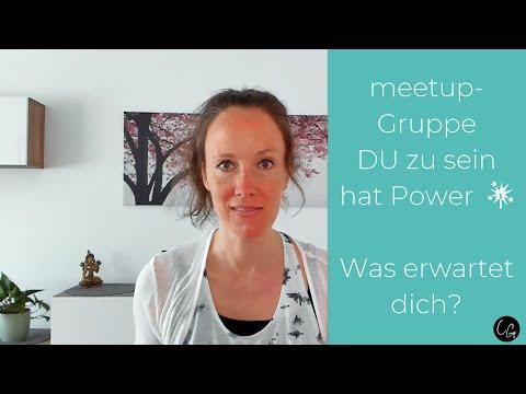 DU zu sein hat Power 🎇: Was erwartet dich in der meetup-Gruppe?